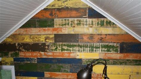 Painted Pallet Wall