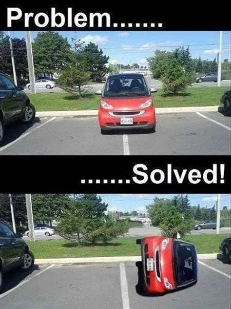 Car Problems Meme - helping smart cars park