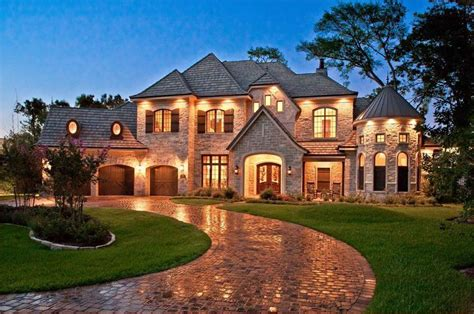 french country home exteriors exterior dream ranch home design ideas pinterest