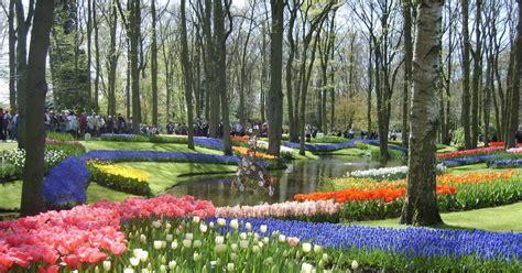 world largest flower garden hortist keukenhof the world s largest flower garden