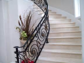 Ornamental Stair Railings by Spiral Staircases 187 V Amp M Iron Works Inc In The San Jose