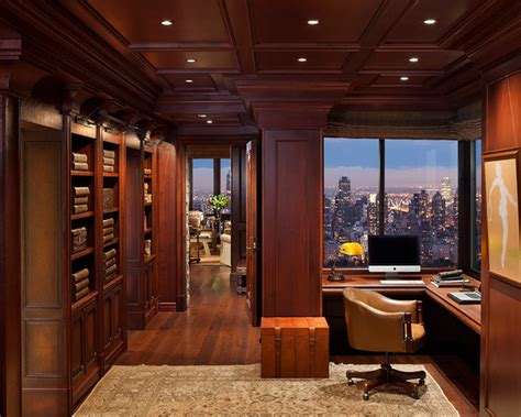 Home Office Traditional Home Office Metropolitan Refined Traditional Home Office Denver By Greenauer Design