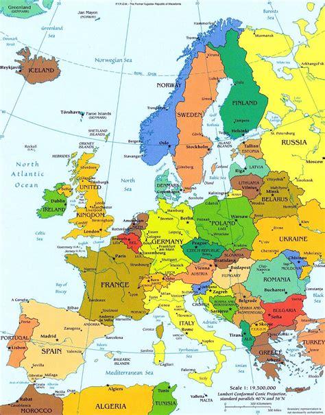 navigon europe 4 1 2 c sociais mapa pol 237 tico de europa