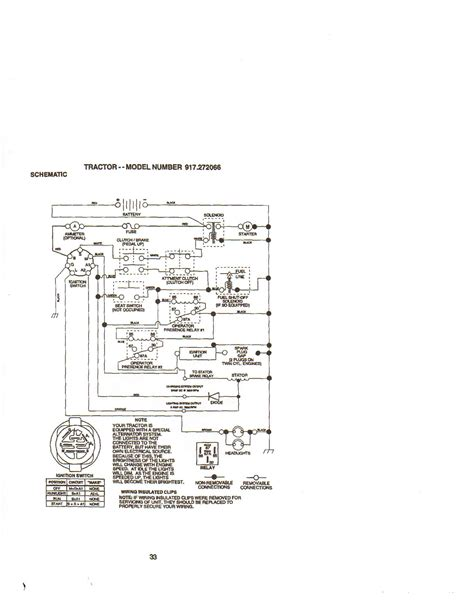 wiring diagram for a craftsman mower craftsman lawn mower model 917 wiring diagram project
