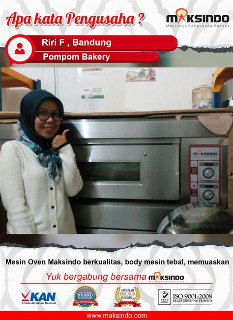 Oven Listrik Rumahan pompom bakery mesin oven maksindo berkualitas dan