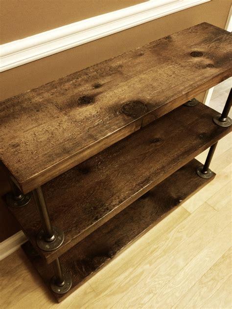 rustic industrial floor ls industrial rustic bookshelf cedar wood super simple and