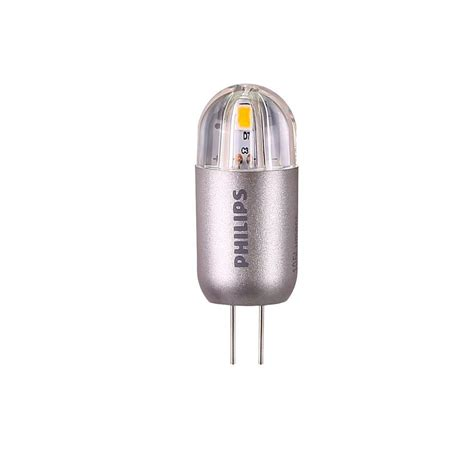 Landscaping Light Bulbs Philips 20w Equivalent Bright White G4 Capsule Led Light Bulb 458513 The Home Depot