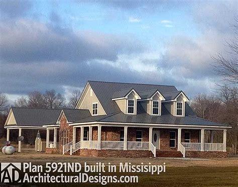 Plan 5921ND: Wonderful Wrap Around Porch   Squares