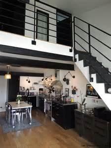 Impressionnant Decoration D Interieur Moderne #4: Cuisine-metal-noire.JPG.jpeg