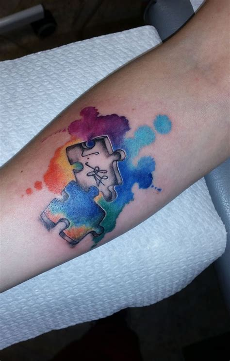 autism puzzle tattoo designs 32 best puzzle 砌圖 images on puzzle pieces