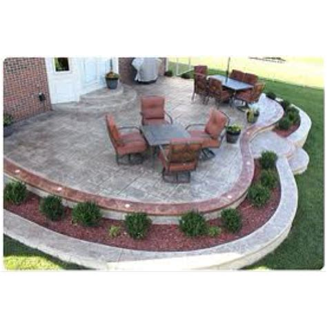 Landscape around patio   Patio   Pinterest
