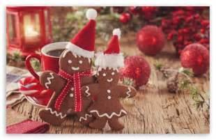 christmas gingerbread wallpaper wallpapersafari