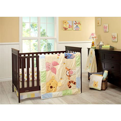 space crib bedding winnie the pooh nursery bedding for nursery room