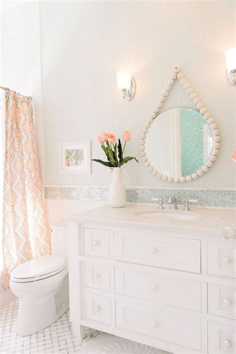 girls bathroom mirror 17 best ideas about girl bathroom decor on pinterest