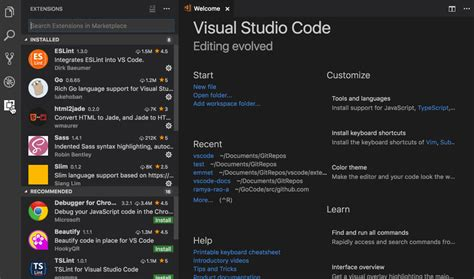 reset visual studio settings command line all settings commands in visual studio code go extension