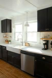 Dark And White Kitchen Cabinets 25 Best Ideas About Ikea Farmhouse Sink On Pinterest