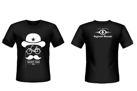 desain kaos hitam putih desain kaos ipdn kampus sulawesi utara