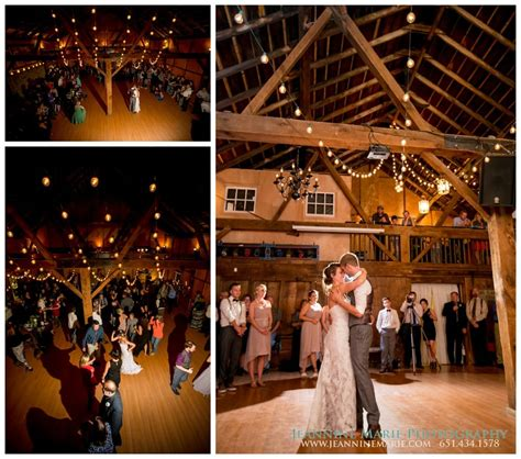 inside the barn perfect for the dance at a wedding