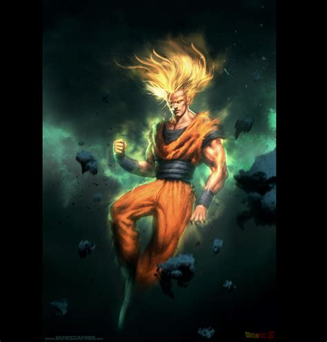 imagenes de goku en 3d download wallpapers download 2560x1920 paintings son goku