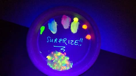 glow in the paint explained teenagers experiment with glow in the paint and rice