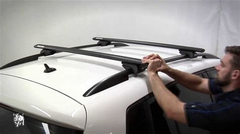 pioneer boats youtube rhino rack how to fit factory rail roof rack systems