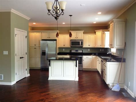 kitchen backsplash ideas with cream cabinets stylish cream colored kitchen cabinets all home decorations