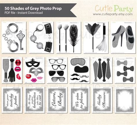 themed l shades 50 shades of grey theme photo booth prop 50 by
