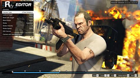 grand theft auto v gamespot see gta 5 s impressive pc only video editing tools in