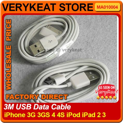 Sale Cabel Data 1 23 Ipone 4 3m 6 pin usb cable for iphone end 4 23 2018 3 30 pm myt