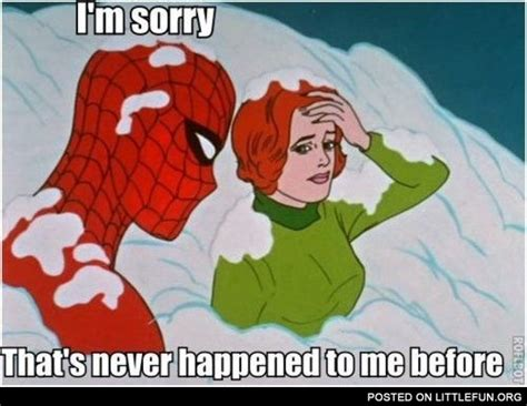1960 Spiderman Meme - littlefun 60s spiderman meme i m sorry that s never