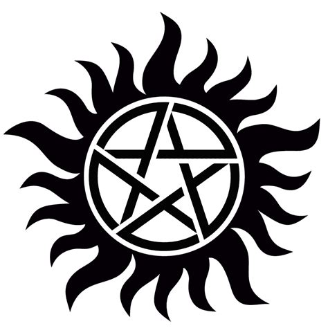 supernatural anti possession symbol ink pinterest