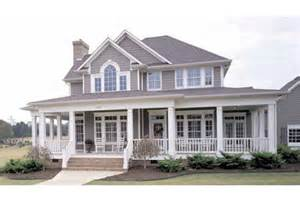 Farmhouse House Plans With Wrap Around Porch by Country Farmhouse Plans With Wrap Around Porch So