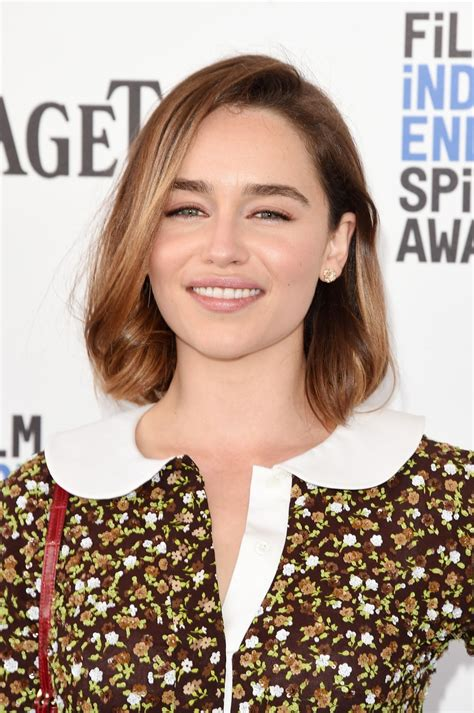emilia clark emilia clarke at independent spirit awards in santa