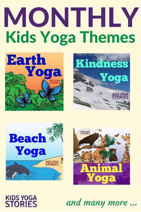 book themes by month monthly kids yoga themes kids yoga stories yoga books