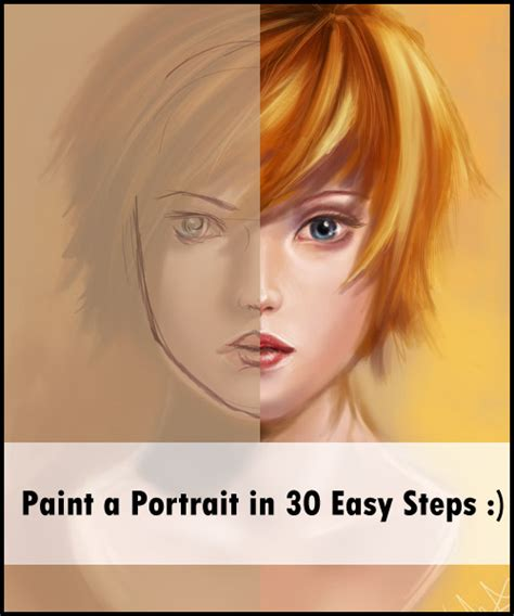 tutorial watercolor portrait portrait painting tutorial by acidlullaby on deviantart