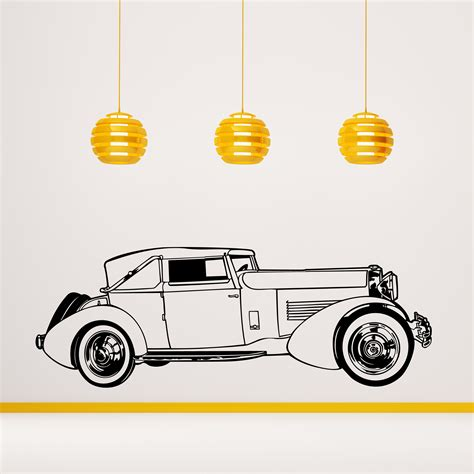 Auto Decals Shop by Vintage Old Sports Auto Wall Decal Cutzz