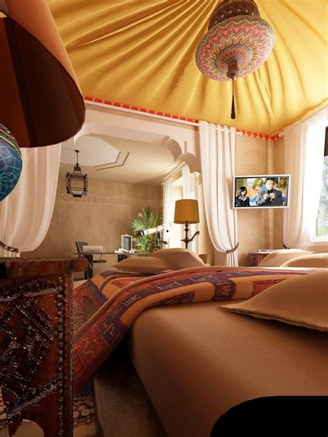 Bedroom Themes by 40 Moroccan Themed Bedroom Decorating Ideas Decoholic