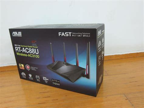 Router Box asus rt ac88u router review 171 lesterchan net