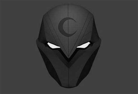 marvel comics moon knight helmet papercraft free