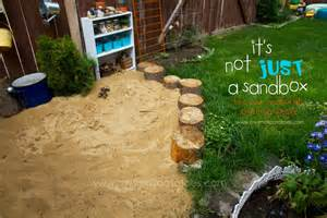 Backyard Ideas Sand It S Not Just A Sandbox Turn Your Sand Play Area Into