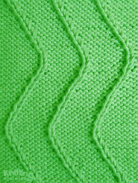 left twist knitting twist stitch waves knitting stitch patterns