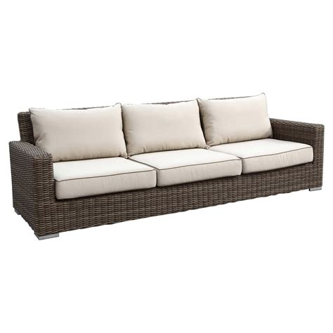 Sunset West Coronado Wicker Sofa Wicker Sofas