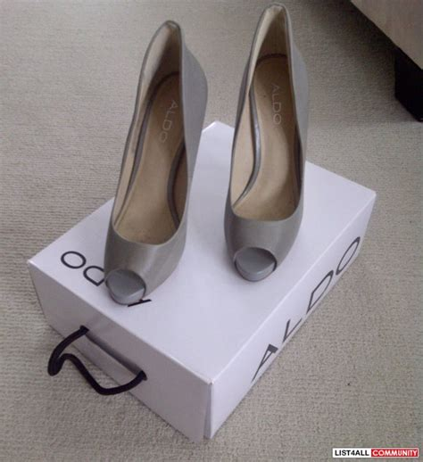 Aldo Heels Sz 37 5 grey aldo stilettos sz 37 hellokitty604