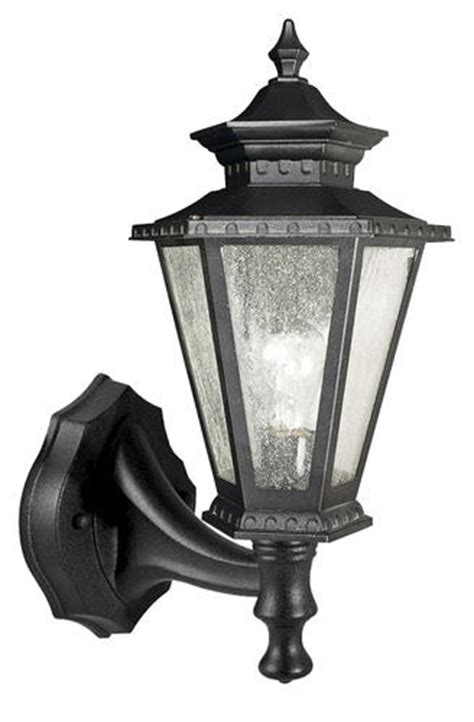 Patriot Outdoor Lighting Patriot Lighting 174 Burnaby Black Outdoor Wall Light At Menards 174