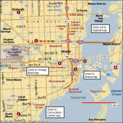 Miami Map by Pin Miami Map On Pinterest