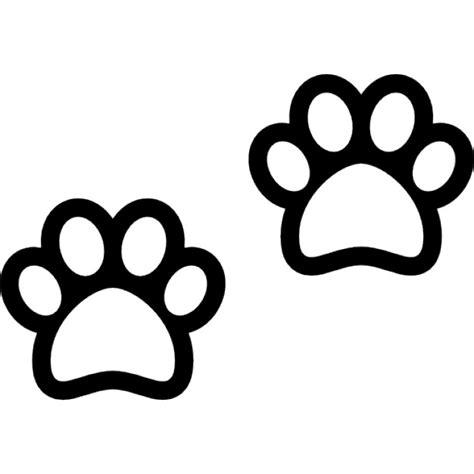 imagenes de gatas blancas perro patas esquema descargar iconos gratis