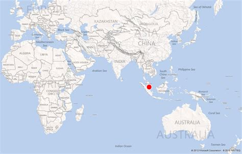 world map image singapore singapore on world check out singapore on world cntravel