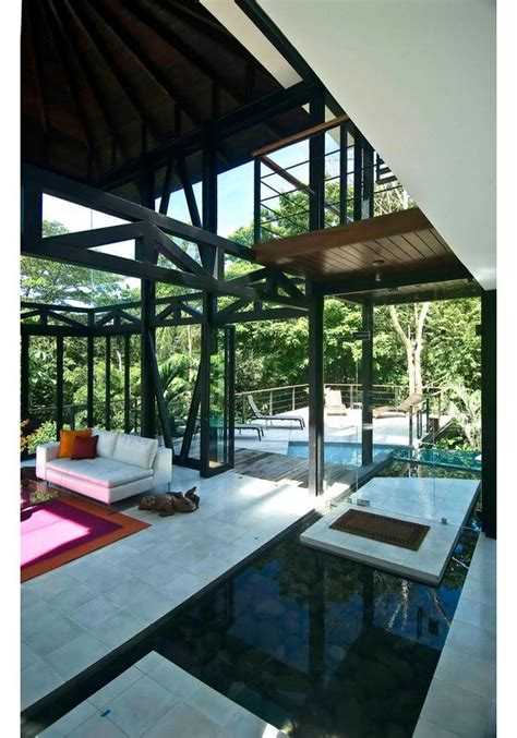 environmentally friendly luxury house  costa rica