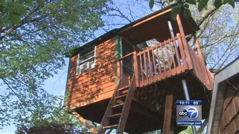 airbnb treehouse new york illinois treehouse being rented on airbnb leads to zoning