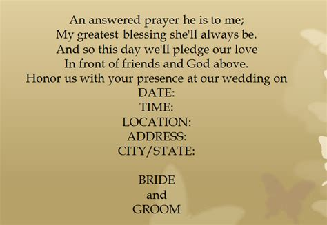 Wedding Announcement Phrases by 15 Sles For Casual Wedding Invitation Wording